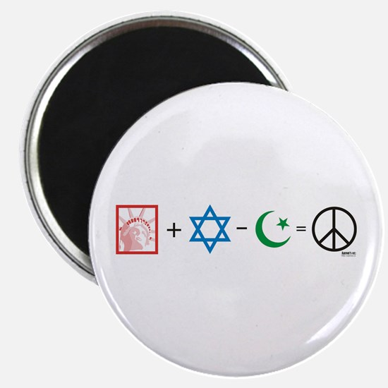 USA plus Israel minus Islam is Peace Magnet