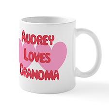 Audrey Loves Grandma Small Small Mug