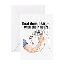 Nw DD Hear With Their Heart Greeting Card