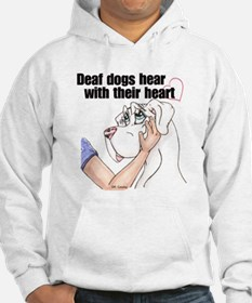 Nw DD Hear With Their Heart Hoodie
