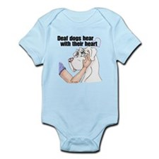 Nw DD Hear With Their Heart Infant Bodysuit