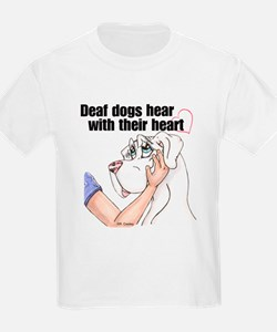 Nw DD Hear With Their Heart T-Shirt