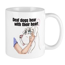 Nw DD Hear With Their Heart Mug