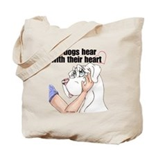 Nw DD Hear With Their Heart Tote Bag