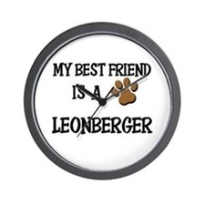 My best friend is a LEONBERGER Wall Clock