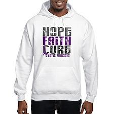 HOPE FAITH CURE Cystic Fibrosis Hoodie