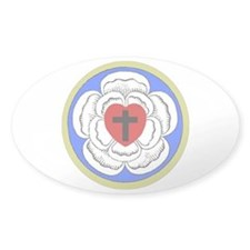 Luther Seal 1 Oval Decal