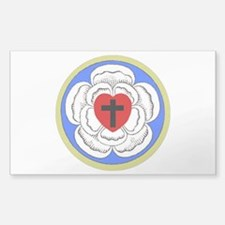 Luther Seal 1 Rectangle Decal