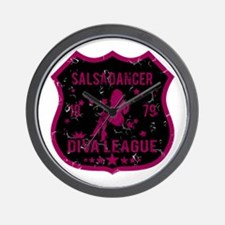 Salsa Dancer Diva League Wall Clock