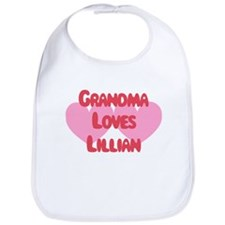 Grandma Loves Lillian Bib