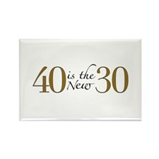 40 is the new 30 Rectangle Magnet (100 pack)