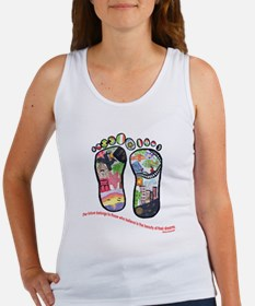 Traveling feet with Eleanor Roosevelt quote Women'