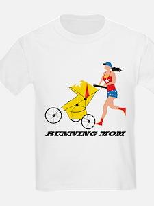 running mom logo tif T-Shirt