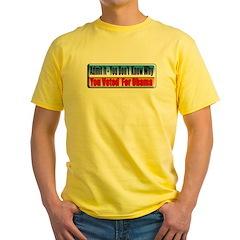 Admit It! Yellow T-Shirt