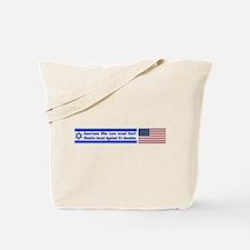 Don't Shackle Israel Tote Bag
