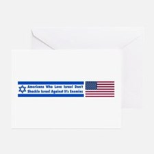 Don't Shackle Israel Greeting Cards (Pk of 10)