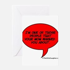 Funny Comedian Greeting Card
