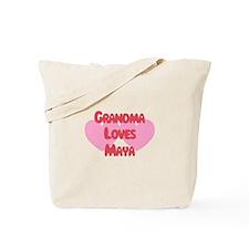 Grandma Loves Maya Tote Bag