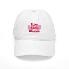Elena Loves Grandma Baseball Cap