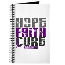 HOPE FAITH CURE Anorexia Journal