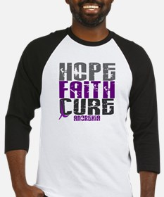 HOPE FAITH CURE Anorexia Baseball Jersey