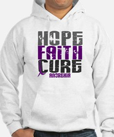 HOPE FAITH CURE Anorexia Hoodie