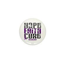 HOPE FAITH CURE Anorexia Mini Button (10 pack)
