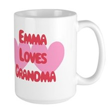 Emma Loves Grandma Mug