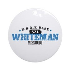 Whiteman Air Force Base Ornament (Round)