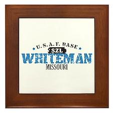 Whiteman Air Force Base Framed Tile