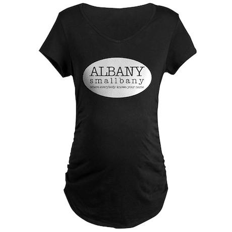 smAlbany - Maternity Dark T-Shirt