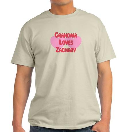 Grandma Loves Zachary Light T-Shirt