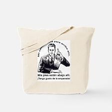 Up, Down, I Like Pie Tote Bag
