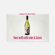 Valentines love Rectangle Magnet (10 pack)