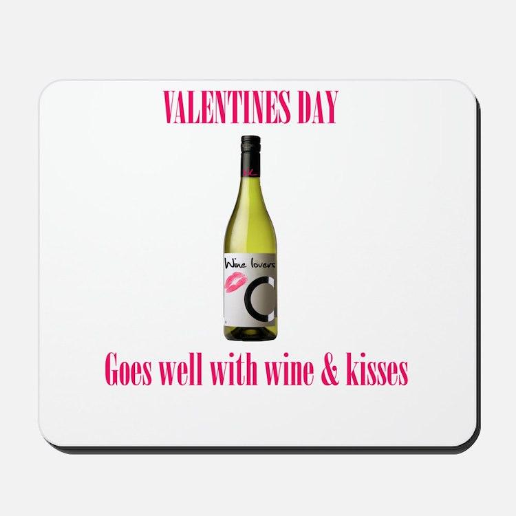 Valentines love Mousepad