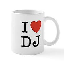 I Heart DJ Mug