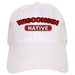 Wisconsin Native Baseball Cap