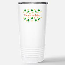 """""""Luck of the Irish"""" Travel Mug"""