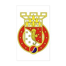 36th Engineer Brigade Rectangle Decal