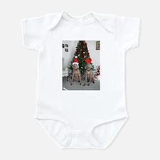 Cool Cute dog christmas Infant Bodysuit