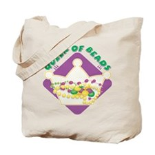 Queen Of Beads Tote Bag