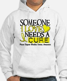 Needs A Cure BLADDER CANCER Hoodie