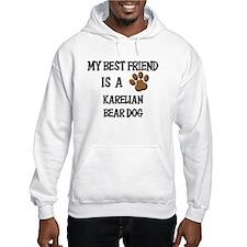 My best friend is a KARELIAN BEAR DOG Hoodie
