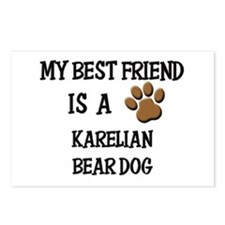 My best friend is a KARELIAN BEAR DOG Postcards (P