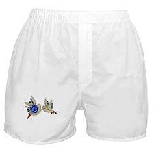 Rhinestone Birds Boxer Shorts