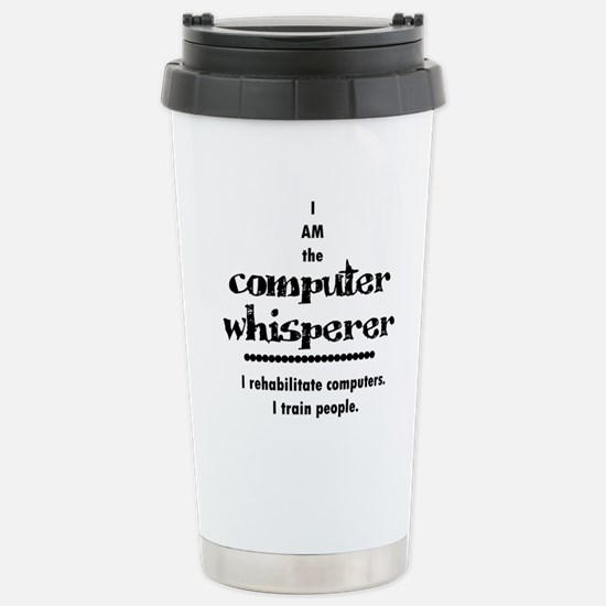 Computer Stainless Steel Travel Mug