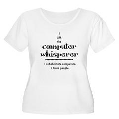 Computer Women's Plus Size Scoop Neck T-Shirt