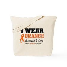 I Wear Orange I Care Tote Bag