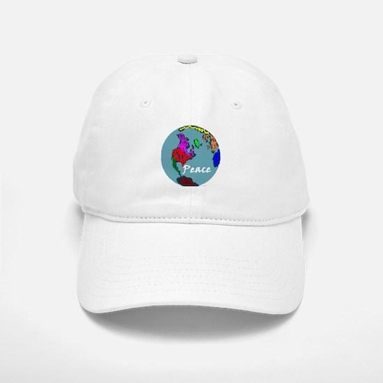 Peace on Earth Baseball Baseball Cap