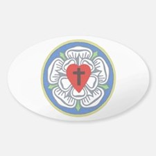 Luther Seal 3 Oval Decal